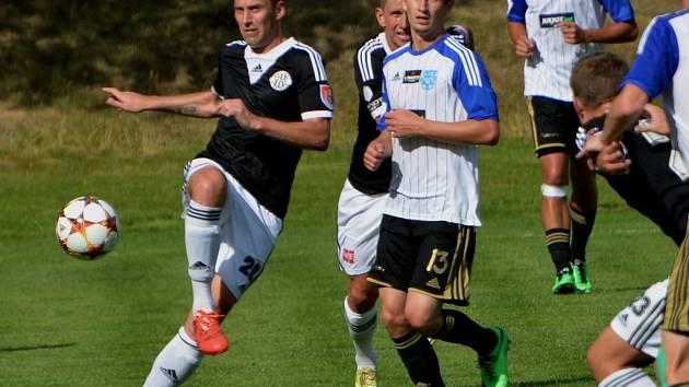Jan Šimák v zápase Dynama se Znojmem patřil k njelepším hráčům na hřišti.