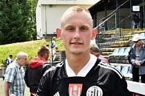 Ondřej Mihálik dal ve Vlašimi svůj první gól v dresu Dynama.