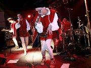 Pub Animals, česká ska/reggae skupina, vystoupili 16. března 2013 v českokrumlovském klubu Fabrička.