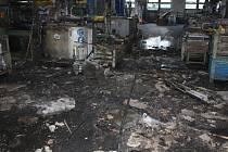 Slévárnu v Kněžskodvorské ulici ve čtvrtek odpoledne zachvátily plameny. Předběžnou škodu vyšetřovatelé vyčíslili na 7,5 milionu korun.