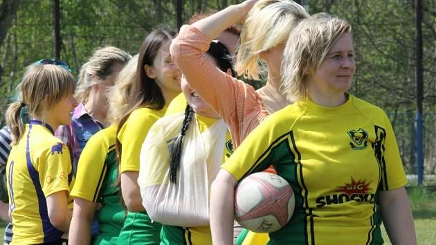 Českobudějovická Vltava poprvé hostila turnaj ragbistek, domácí RC ČB skončil druhý.