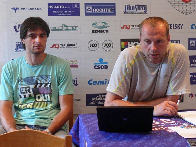 Jan Svoboda s Tomášem Filou