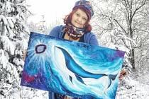 V obrazech a tvorbě Jihočešky Jany Roselli je energie.