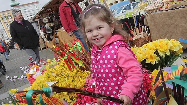 Jarní a velikonoční žánry z trhu na českobudějovickém náměstí a z parku Na sadech,Lucka Steinbauerová