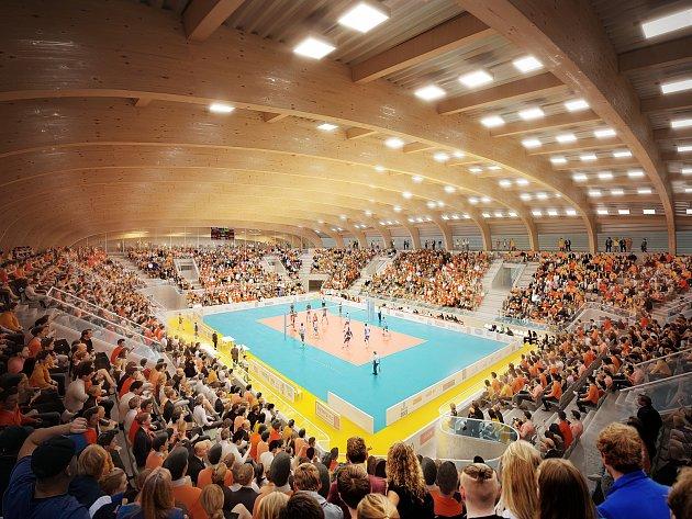 Sportovní hala v Českých Budějovicích