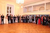 V sobotu se v Nových Hradech uskutečnil zámecký ples.