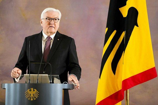 Prezident Steinmeier.