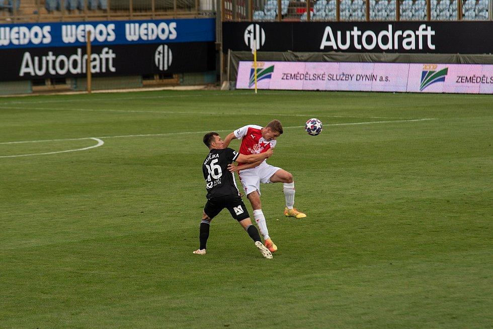 Fortuna liga, fotbal, Dynamo České Budějovice – SK Slavia Praha