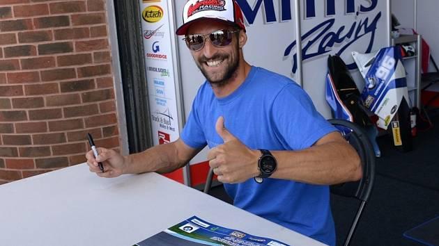 Jakub Smrž se chystá na svou již pátou sezonu v britském mistrovství superbiků.