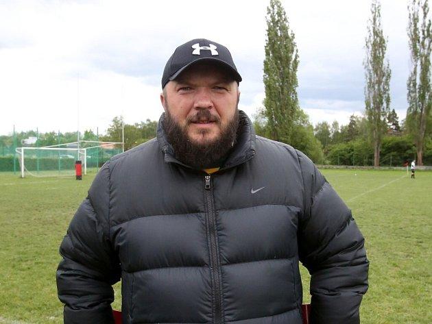 DRSŇÁK. Jaroslav Hrubý se našel v ragby