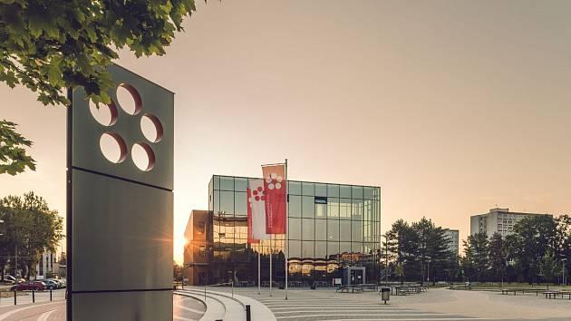 Jihočeská univerzita. Areál v Českých Budějovicích v Branišovské ulici. Foto: archiv Jihočeské univerzity