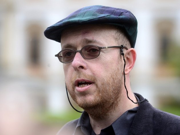 Literární historik Martin C. Putna.