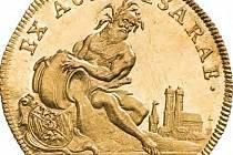 Isarský dukát z roku 1760.