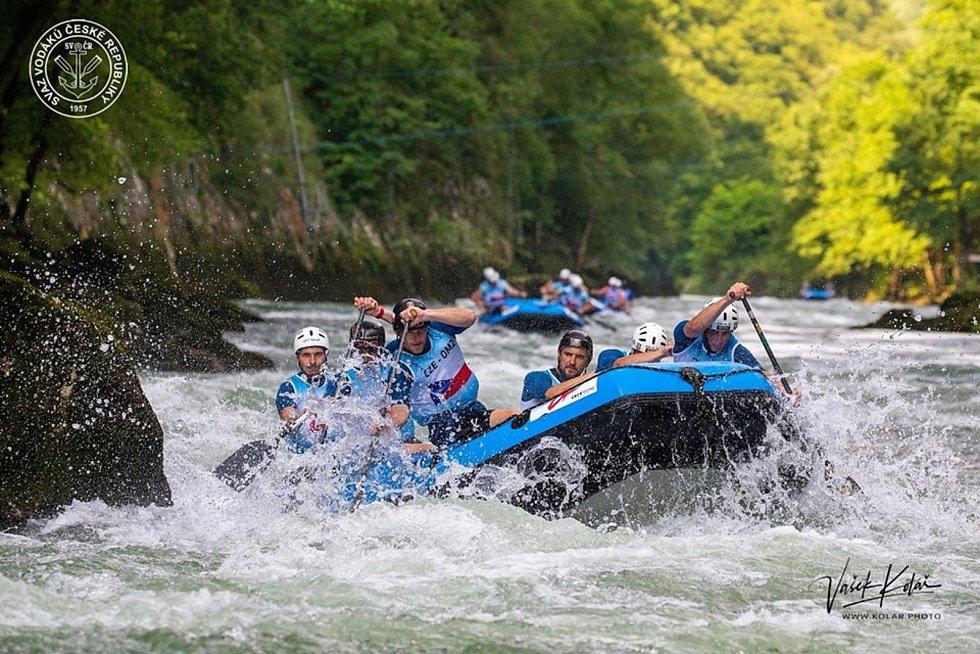 Na řece Vrbas byl tým Hanace České Budějopvice nejlepší.