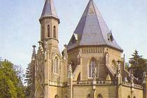Schwarzenberská hrobka v Domaníně na Jindřichohradecku.