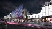 Nový komplex IGY nabídne obchody, kavárny, restaurace i multikino.