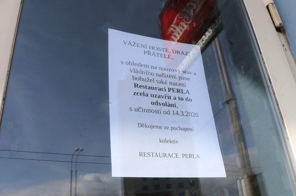 Zavřené restaurace v ČB