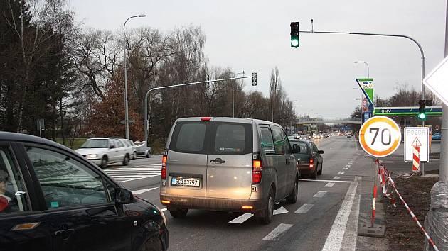 Po Novém roce se ukáže, o kolik se v místě zhorší dopravní situace.