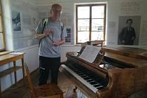 František Řihout se podíval do domu, kde skládal Gustav Mahler