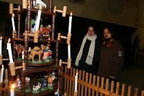 Vernisáž výstavy betlémů v rámci Vánoc u svatého Jána.