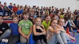 Hráči Jihostroje vyrazili mezi děti do školy Oskara Nedbala