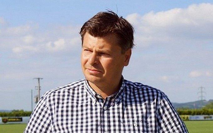 Předseda TJ Malše Roudné Libor Šolc