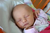Rovná 3,30 kg měla po porodu novorozená Eliška Samuelová. Rodičům Evě a Tomáši Samuelovým se narodila 15. 10. 2018 v 18.38 h. Žít bude v Českých Budějovicích.Foto: Ilona Lonsmínová