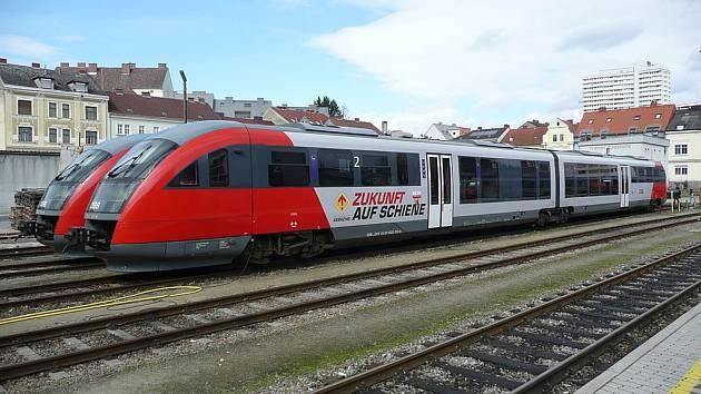 Modernizace se týká i tratí, kterou vedou k českým hranicím.