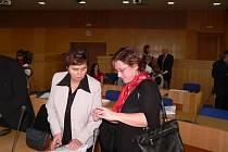 Ocenění od Sdružení českých spotřebitelů převzalo v jednacím sále krajského úřadu dvacet jihočeských podnikatelů. Byla mezi nimi i Marie Tichá z Dačic (vlevo), která se už může pyšnit oceněním cukrářka roku 2005.