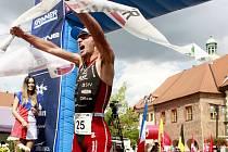Xterra Czech World cup Prachatice 2013.Němec Felix Schumann, vítěz kategorie Elite