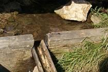 Ani kapka vody nevytéká z pramene Vltavy.