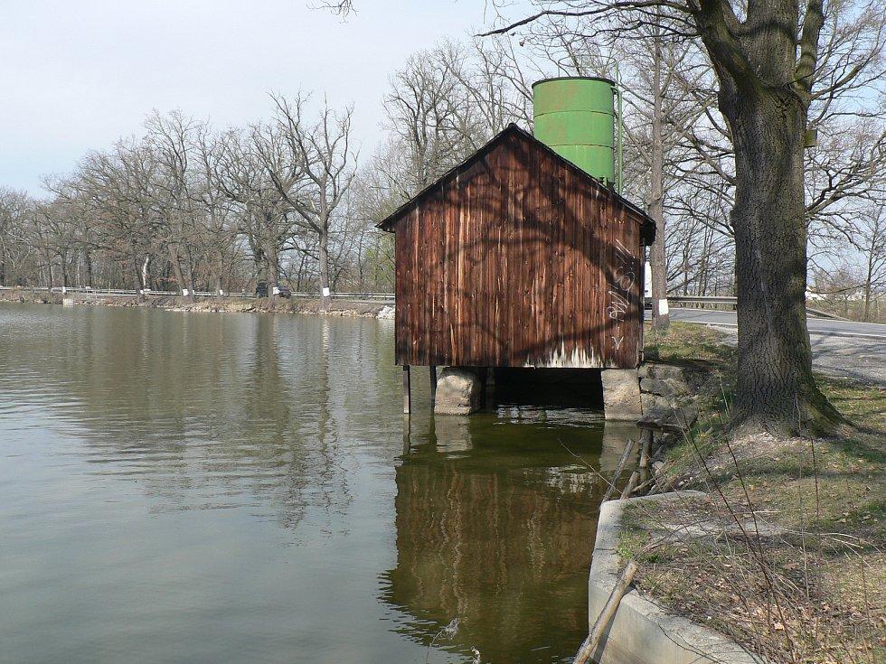 Rybník Dubeňák.