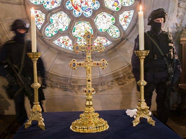 Závišův kříž ve Vyšším Brodě je jedním zhlavních lákadel Zemské výstavy.