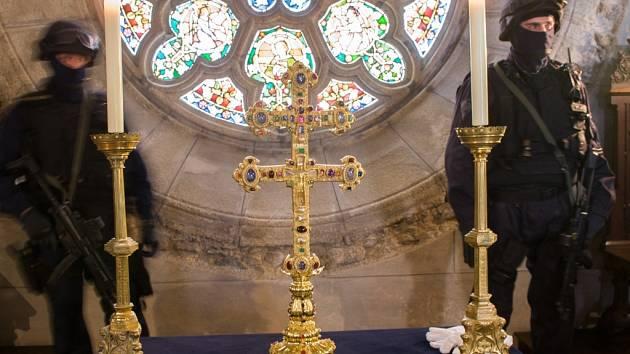 Závišův kříž ve Vyšším Brodě je jedním z hlavních lákadel Zemské výstavy.