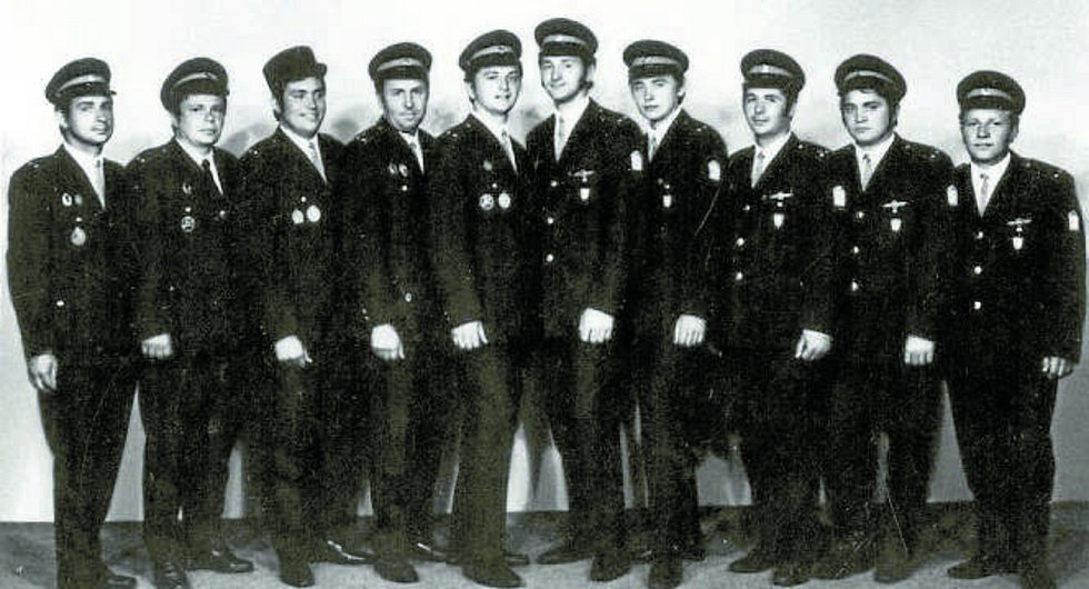 Úspěchy. Družstvo SDH Mokré z přelomu 60. a 70. let získalo stříbrné a zlaté medaile na mezinárodních soutěžích CTIF v rakouském Kremsu a v Brně.