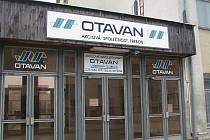 Pohled na dnes jediný výrobní závod Otavanu ve Slavonicích.