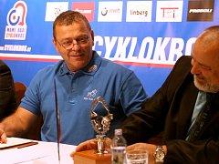 Tisková konference v Praze ke startu cyklokrosové sezóny