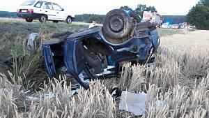 Smrtelná nehoda u Třeboně