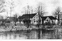 U Špačků před rokem 1914.
