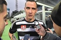 Za Dynamo proti Spartě v závěru utkání naskočil i navrátilec Jiří Kladrubský.