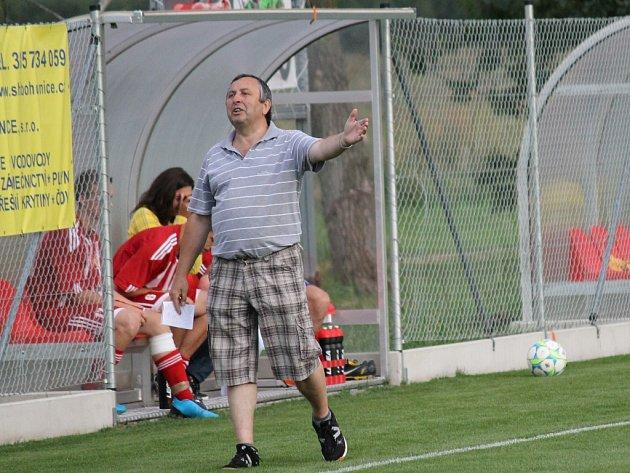 Trenér Miloslav Beránek by rád viděl svůj Temelín výš než v suterénu okresního přeboru.