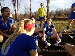 Fotbalové utkání dívek USA - Jihočeský kraj, Natálie Johnová