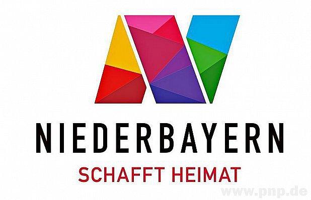 Nové logo Dolního Bavorska.