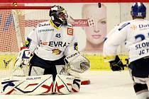Utkání 9. kola hokejové Tipsport Extraligy mezi HC České Budějovice a HC Vítkovice Steel.