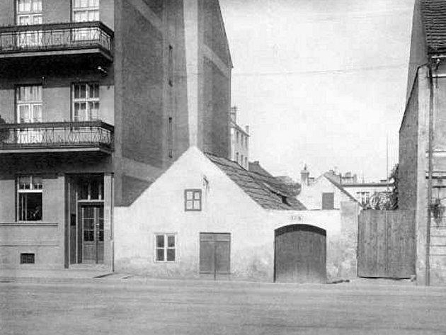 Senovážné náměstí v roce 1929.