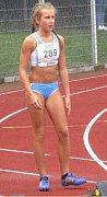 Tereza Babická výrazně zrychlila.