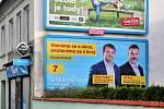 Předvolební billboard Starostů a nezávislých. Známka odborníka na marketing: 3.