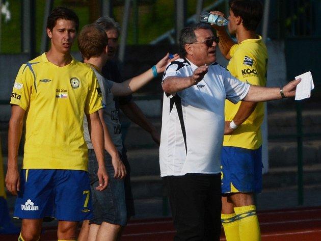 V posledním kole divize v Č. Krumlově vedl Jindřich Dejmal fotbalisty Písku naposledy.