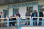 Dolní Bukovsko (v bílém) doma porazilo v I.B Horní Stropnici 3:0.