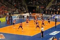 Volejbalisté Jihostroje hráli v Lize mistrů v Berlíně